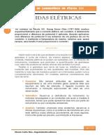 Relatório Medidas Elétricas Fisica 3