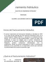 Fracturamiento hidráulico