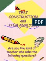 Item Analysis (Line)