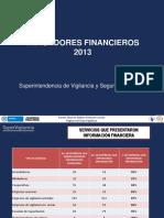 Indicadores Financieros Sector VSP 2013