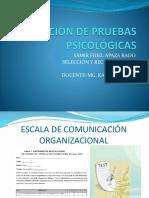 Escala de Comunicación Organizacional 1