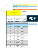 RF-TRM audit report site ID