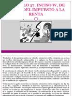 ARTÍCULO 37, INCISO W, DE LA.pptx