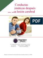 Behavioral Challenges After Brain Injury Spanish
