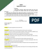 Materi Application Letter