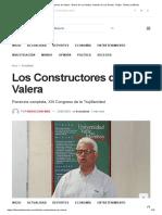 Los Constructores de Valera • Diario de Los Andes, Noticias de Los Andes, Trujillo, Táchira y Mérida