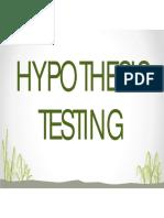 L2 Hypothesis Testing