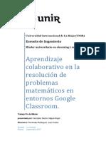 Aprendizaje Colaborativo en la resolución de problemas matemáticos