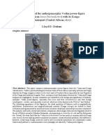 A comparison of the anthropomorphic Vodun power-figure (West African bocio/bo/vodu/tro) with its Kongo counterpart (Central African nkisi)