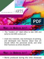 MODERN-ARTS.pptx
