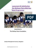Akshaya Patra Impact Assessment
