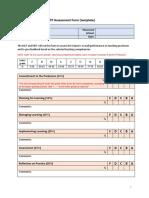 Appendix 3 MST Final TP Assessment Form (Template)