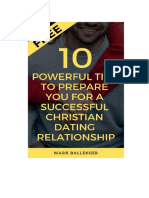FREE 10 Powerful Tips to Prepare You for a Successful Christian Dating Relationship by Mark Ballenger
