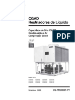 Catálogo do Produto - Trane - Chiller - CGAD
