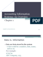 Accounting Information System Overview