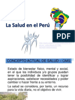 Tema La Salud en El Peru