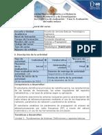 Guía de actividades y rúbrica de evaluación - Fase 5 - Evaluación del radioenlace.docx