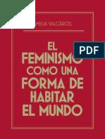 Libro El Feminismo Como Una Forma de Habitar El Mundo