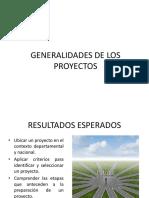 Generalidades de Los Proyectos 1