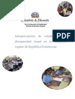 Autopercepcion de Estudiantes Con Discapacidad Visual.