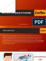 Best SEO Company in Canada - Get Affordable SEO Services by CBX Studio
