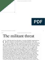 The Militant Threat