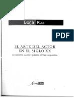 El arte del actor en el siglo XX