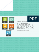 2019 LEED AP With Specialty Candidate Handbook