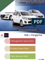 Sparepart management