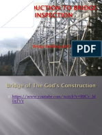 PPT OF Introduction to Bridge Inspection