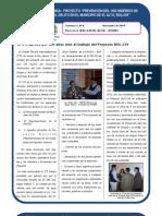 Proyecto BOL/J39 - El Alto - UNODC Boletín Nº 8