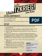 Blitzkrieg Solo Rules Final