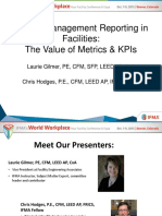 WWP 2015 Metrics KPIs