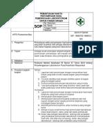 8.1.3.2 Sop Pemantauan Waktu Penyampaian Hasil Pemeriksaan Laboratorium Untuk Pasien Urgen