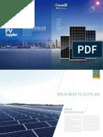 Bluesun Solar Panel Catalogue