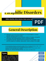 Paraphilic Disorders PPT
