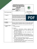 8.1.4.5 Sop Monitoring Pelaksanaan Prosedur Penyampaian Hasil Pemeriksaan Laboratorium Yang Kritis