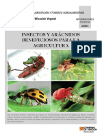 Insectos y Aracnidos Beneficiosos-para Agricultura