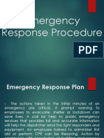 (3) Emergency Response Procedures