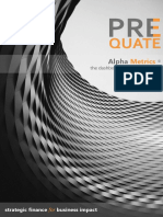 Alpha Metrics - Business dashboards that matter