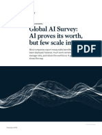 Global AI Survey AI Proves Its Worth but Few Scale Impact