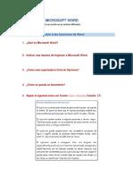 Prácticas en Microsoft Word
