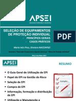 4_Seleção de EPI_Principios gerais_casos práticos_ Inês Pires_APSEI.pdf