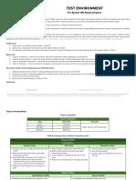 Test Environment Assessment Jan01