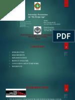Internship Presentation PPT