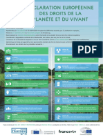 Déclaration des droits de la Planète et du Vivant