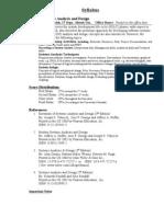 SyllabusSystemAnalysis&Design