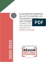 Plan départemental pour la lutte contre les violences faites aux femmes - Doubs