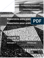 Compositores portugueses - Reportório para pianistas II