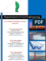 Civil Department Profile